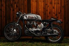Cafe Racer, custom and classic motorcycles from around the globe. Featuring the world's top builders of custom motorcycles and Cafe Racers since Vintage Motorcycles, Custom Motorcycles, Custom Bikes, Triumph Motorcycles, Vintage Bikes, Cafe Racer Style, Custom Cafe Racer, Rockers, Rockabilly