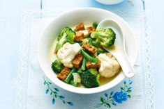Groenten in Thaise currysaus - Recept - Allerhande