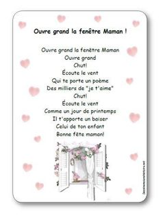 Comptine Ouvre grand la fenêtre Maman Dad Day, Mom And Dad, Cadeau Parents, French Songs, Working With Children, Mother And Father, Thoughts And Feelings, Learn French, Fathers Day