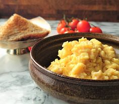 Creamy and soft scrambled eggs from Harry Potter and the Chamber of Secrets