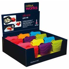 Colourworks Espositore per 24 presine in silicone