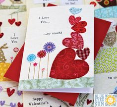 Picnic Time Valentine Cards by Blue Eyed Sun