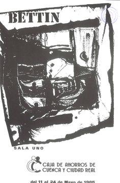 Angelo Bettin en la Caja de Ahorros de Cuenca y Ciudad Real Mayo 1985 #CajaAhorrosCuenca #Cuenca #AngeloBettin