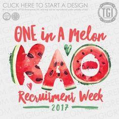 Kappa Alpha Theta | KAT | ΚΑΘ | PR | Sorority Recruitment Week | PR Shirt | TGI Greek | Greek Apparel | Custom Apparel | Sorority Tee Shirts | Sorority T-shirts | Custom T-Shirts