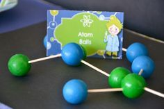 Mad Science Party Supplies | Fun Mad Scientist Party Favors - Atom Balls #partyfavors #madscientist