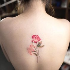 Ethereal Nature Tattoos Transform Skin Into Delicate Watercolor Paintings - My Modern Met