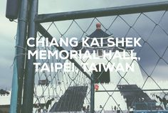 In Zhongzheng District, Taipei we visited the national monument, landmark and tourist attraction erected in memory of Chiang Kai-shek, the former President of the Republic of China. Taiwan Culture, Taipei Taiwan, Former President, The Republic, Kai, Attraction, China, Memories, History