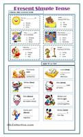 A worksheet to practise the verbs to be and to have in the Present Simple. - ESL worksheets