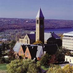 Clocktower at Cornell University: Ithaca, NY In 1970 I worked in the basement of this tower, restoring flooded books from the library of Cornell. The Places Youll Go, Great Places, Places Ive Been, Beautiful Places, Bristol England, Cornell University, New York Photos, Restaurant Guide, Viajes