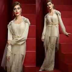 """#AmmaraKhan We are pleased to present our latest Mid Summer Luxe Collection, """"VENUS"""", Named after the Roman Goddess Of Beauty and Love. With a Gorgeous Colour Palette Ideal For Monsoon Evening Soirees' and Wedding Festivities, Venus is an Embodiment Of Contemporary Style and Sophistication. #AmmaraKhan #LuxeFormals #EidFestive #Inspiration #Contemporary #Pearl #Ivory #SadafKanwal #PakistaniFashion #PakistaniCelebrities ✨ Eid Dresses, Pakistani Dresses, Indian Dresses, Indian Outfits, Casual Dresses, Pakistani Suits, Suit Fashion, Runway Fashion, Luxury Fashion"""