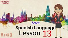 Here are the 10 words of Lesson 36 (of To take live Spanish language lessons, with our native Spanish teachers, visit our website Albert Learning Spanish Words For Beginners, Spanish Lessons Online, Learn Spanish Online, Spanish Courses, Learning Spanish For Kids, Spanish Language Learning, Language Lessons, Teaching Spanish, Kids Learning