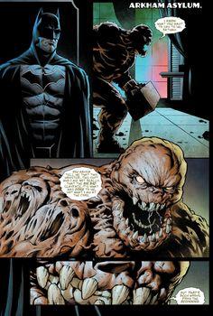 Clayface's face turn (Detective Comics)