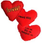 Click here for the Yeowww Heart Attack Catnip Toy