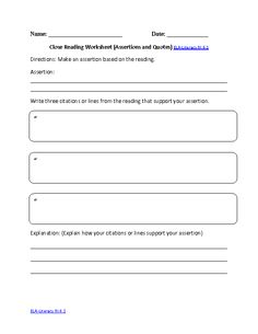 Worksheet Common Core Reading Comprehension Worksheets informational texts worksheets and common core reading on pinterest comprehension is defined as the level of understanding a text this comes for interaction between the