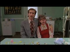 """Nicolas Cage and Holly Hunter in """"Raising Arizona"""" (1987). Directed by Joel Cohen."""