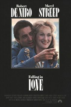 'Falling In Love', 1984 - Meryl Streep in '80's Fashion.