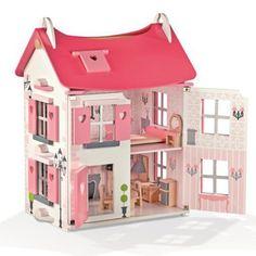 Drewniany domek dla lalek, Janod