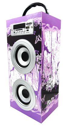 Altavoz Caja Portátil con Bluetooth, Radio, SD, USB, MP3, Inalámbrico y Con Batería Recargable 996118 - http://complementoideal.com/producto/altavoz-caja-portatil-con-bluetooth-radio-sd-usb-mp3-inalambrico-y-con-bateria-recargable-996118/  -  Altavoz Portátil Bluetoothcon el que podrás escuchar toda tu música sin necesidad de cables y en cualquier lugar, conecta todos tus dispositivos mediante la tecnologíaBluetooth fácilmente y comienza a divertirte. Alta