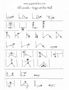 Yoga At The Wall - Iyengar style class sequence for all levels
