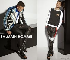 BALMAIN HOMME Spring Summer 2015 Menswear Collection - SPENTMYDOLLARS   Fashion Trends, Shoes, Bags, Accessories for Men & Women