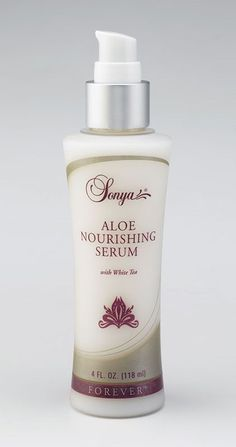 Lightweight serum that preserves and replenishes your skin's moisture to help maintain a youthful complexion. Contains aloe, white tea and mimosa bark extracts.