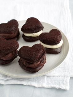 Cranberry Island Kitchen   Boozy Heart Whoopie Pies