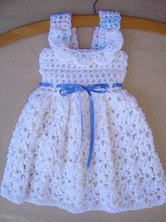 CROCHET PATTERN Baby Dress Girls Dress newborn to by Hectanooga