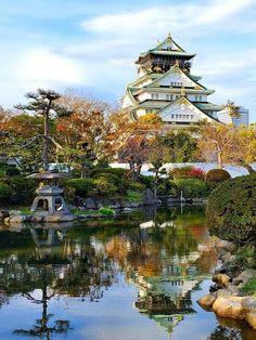 Photo Japon, Japan Photo, Beautiful Castles, Beautiful World, Beautiful Places, Architecture Du Japon, Places To Travel, Places To Go, Temples