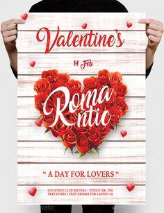 654 best valentine s flyer templates images on pinterest event