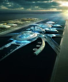 Gentler designs for new London airport on Thames Estuary  #Architecture - ☮k☮