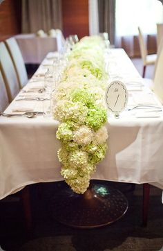 connected hydrangea centerpiece | HydrangeaCenter