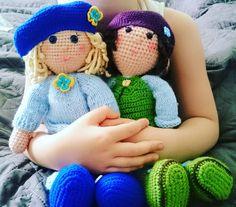 Good Sunday morning! ☀  #handmadedoll #flercz #halynahandmade #crochet #crochetlovers #lovemyhobby #diytoys #doll #newtoys #vyrobenosrdcem…