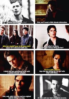 AAAAHHHH!!!!! I don't know which I'm most excited about, Damon supporting Klaroline or Enzo saying that one line....