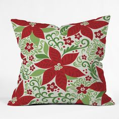 Mary Beth Freet Holiday Sparkle Throw Pillow | DENY Designs Home Accessories