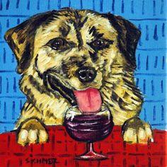 Dog Wine Gift