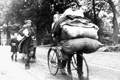 Remaining civilians from the Arnhem area are evacuated by the Germans, with looting as a result. #WW2