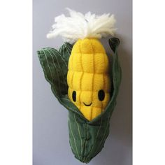 Mr. Corn: Choose Happy or Sad, each $20 #Plush #Corn -- MUST. GET :D