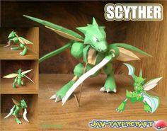 jav-papercraft.blog: scyther (happy dad's day)