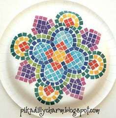 Mosaic A beautiful and creative project using a few simple supplies.