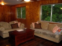 Just a Touch of Gray: Whitewash Treatment White Washed Wood Paneling, Painted Paneling Walls, Painting Wood Paneling, Wood Paneling Makeover, Kitchen Cabinets Before And After, Touch Of Gray, Whitewash Wood, Dark Walls, Kitchen Remodeling