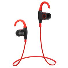 d27a60064c9 DeBeiTe Bluetooth Headphones Wireless Sweatproof Headset Noise Cancelling  InEar Earbud Sports Running Earphones with Mic for Iphone Samsung and Smart  Phones ...