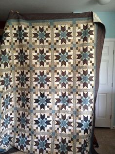 Bonnie Hunter's Jared Takes a Wife Quilt, 2014