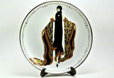 Mystic House of Erté The Franklin Mint Fine Porcelain Decorative Plate Sevenarts LTD HA7799