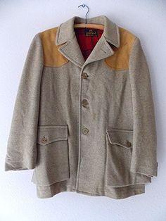 Ending Today!! Zero King Coat Size Medium Hunting Costume Jacket Vintage 60s Norfolk #ZeroKing #BasicCoat