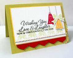 Stamping & Sharing: Wishing You Love & Laughter