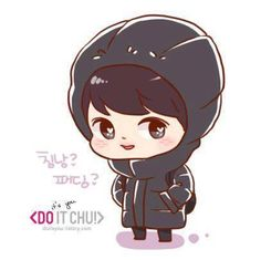 Exo d.o fanart so cute! Do it chu