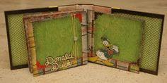 Monique Griffith Designs: Disney Autograph Book - Plus Echo Park Blog Candy