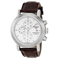 Tissot T0684271601100 Watch Carson Mens - Silver Dial Stainless Steel Case Auto