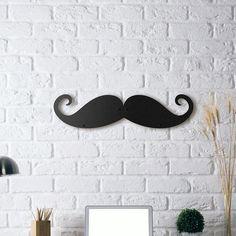 """Metal Deco - Mustache Ambarın yeni, bir o kadar da şekil üyesi """"Mustache"""". 😎"""