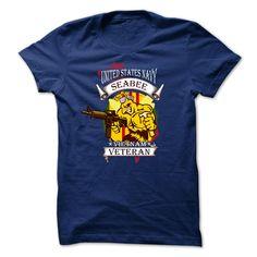Veteran T-Shirt - Us Navy Seabee Vietnam Veteran